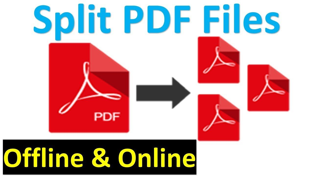 How To Split A Pdf Document Into Multiple Files Splitting Pdf Pages How To Split Pdf Solving