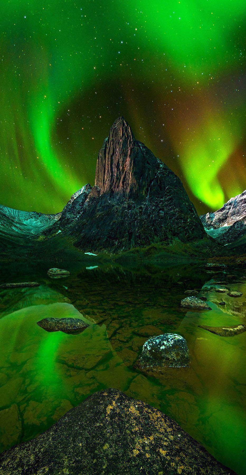 Northern Lights Auroras Boreales