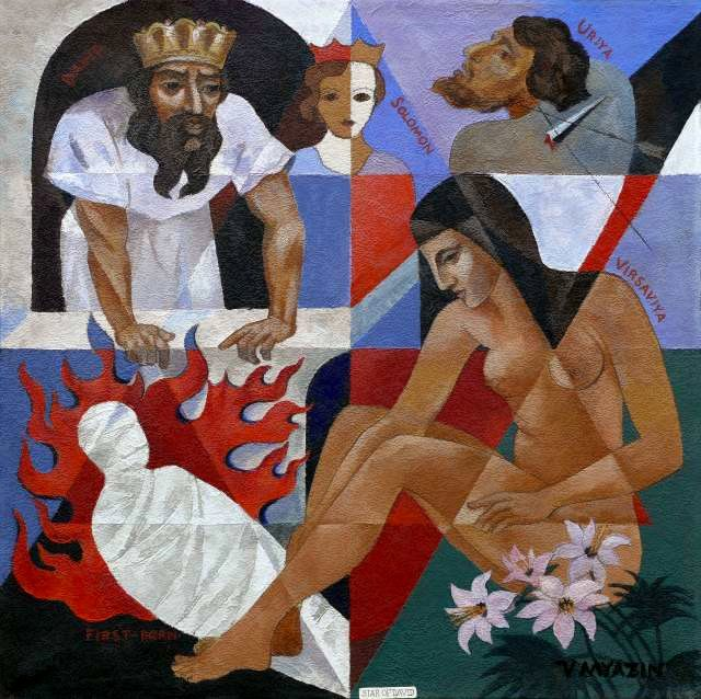 Vasiliy Myazin, The Star of David