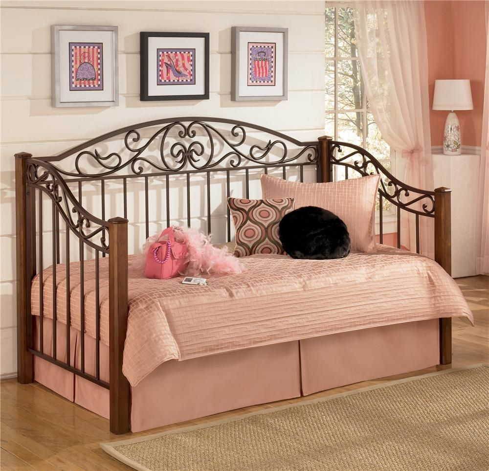 - Wyatt Day Bed By Signature Design By Ashley Furniture For $349