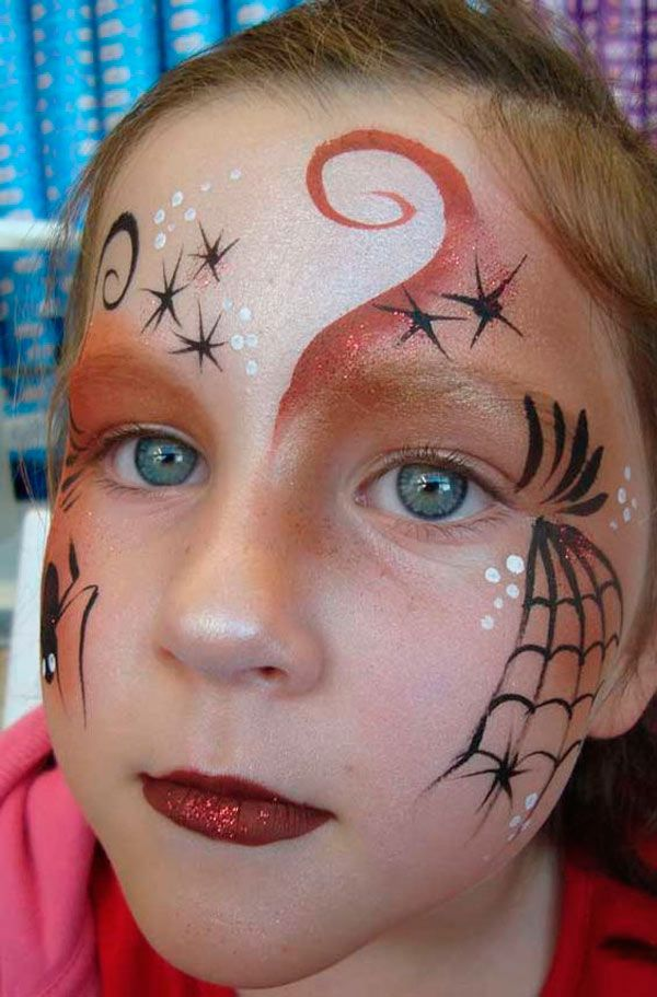 maquillaje facil de bruja