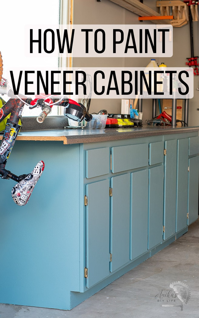 How To Paint Veneer Cabinets