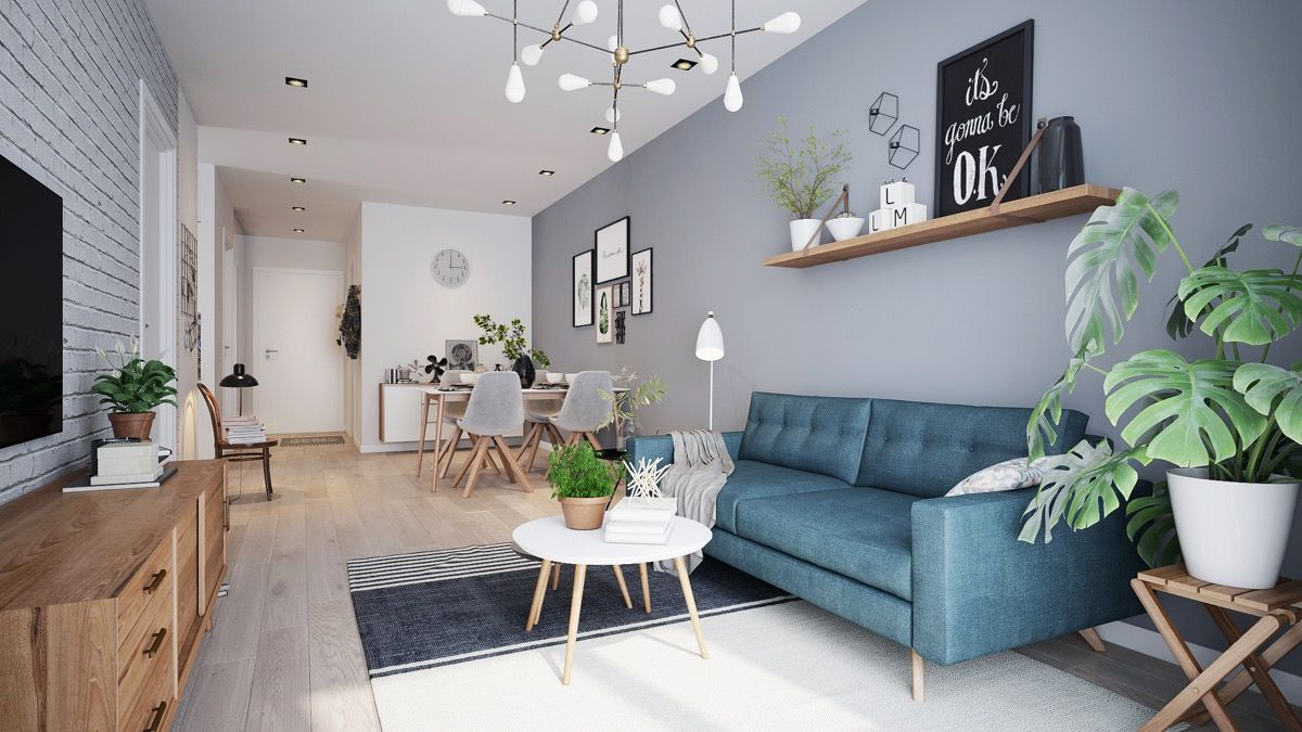 5 Scandinavian Style Apartments Turquoise Living Room Decor Living Room Scandinavian Living Room Furniture Sofas