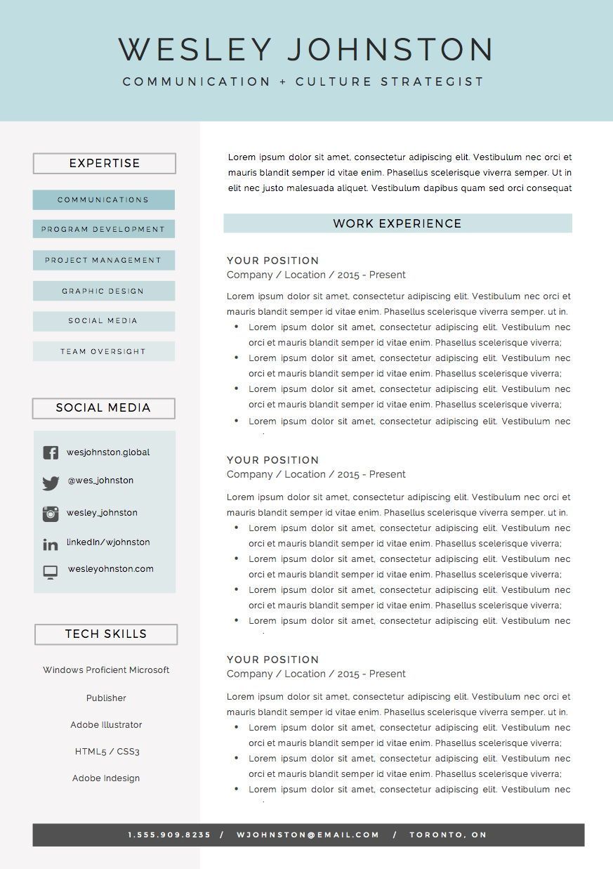 Resume Cover Letter References Template For Ms Word Oceanside Cover Letter For Resume Resume Design Inspiration Resume Template
