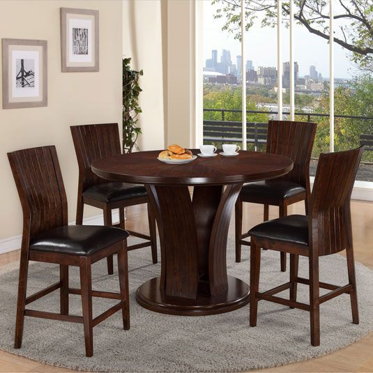 Cherry Dining Set Round Jerome S Home