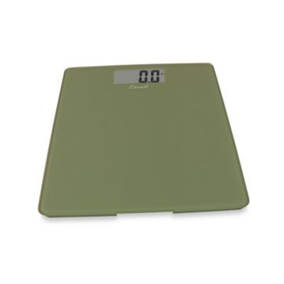 Escali Glass Platform Bathroom Scale In Sage Green Escali Glass Bathroom Bathroom Scale