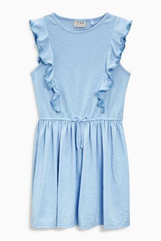 Kúpiť Modré džersejové šaty (3 – 16 rok.) Dnes online na Next: Slovensko