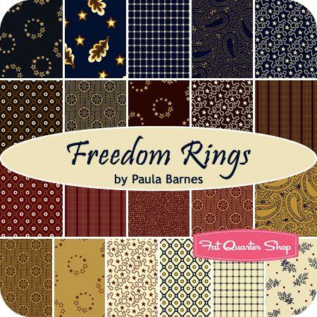 FREEDOM RINGS by Paula Barnes for Marcus Fabrics