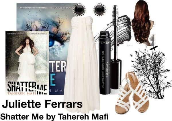 """Juliette Ferrars"" by buknerd on Polyvore"