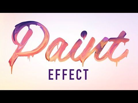 Photoshop Tutorial - Paper Cutout Text Effect (Lettering) - YouTube