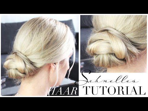 Leichte Hochsteckfrisur Fur Jeden Tag Haarknoten Dutt Tutorial Youtube Frisur Hochgesteckt Dirndl Frisuren Kurze Haare Hochsteckfrisuren Kurze Haare