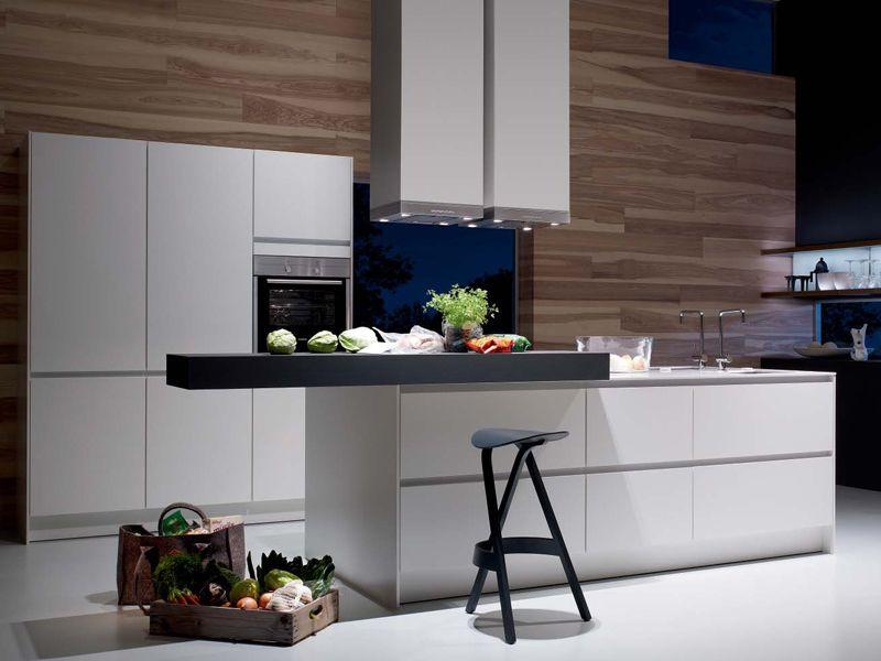 Cucina in alluminio con isola senza maniglie S2 - SieMatic Italia ...