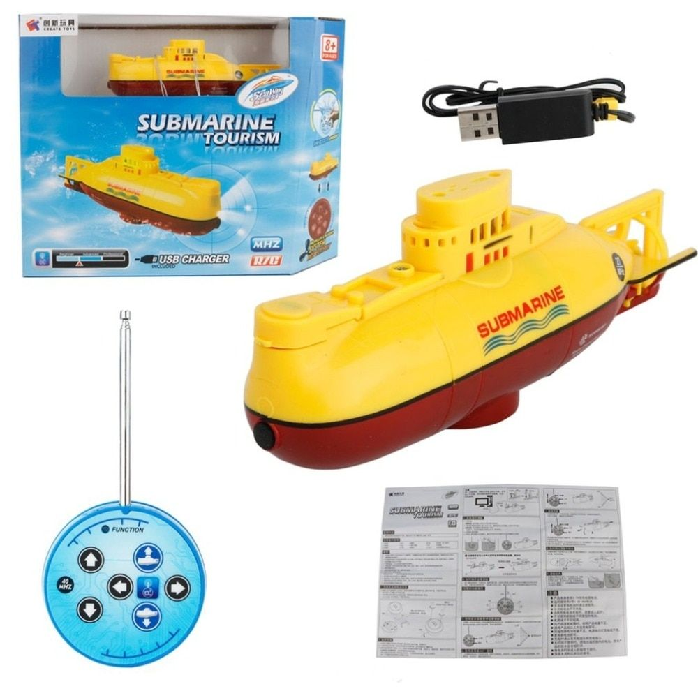 Submarine Ship Kids Children Electric Control Water Remote Toy Boat for Children