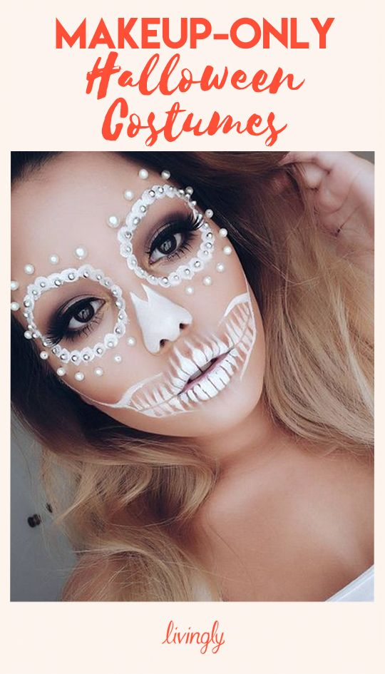 Halloween Costumes You Can Make With Just Makeup