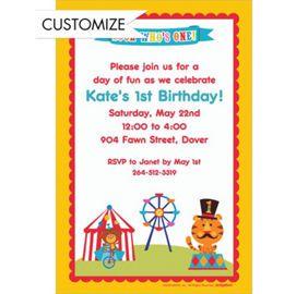 Custom fisher price 1st birthday invitations party city lifes a custom fisher price 1st birthday invitations party city stopboris Image collections
