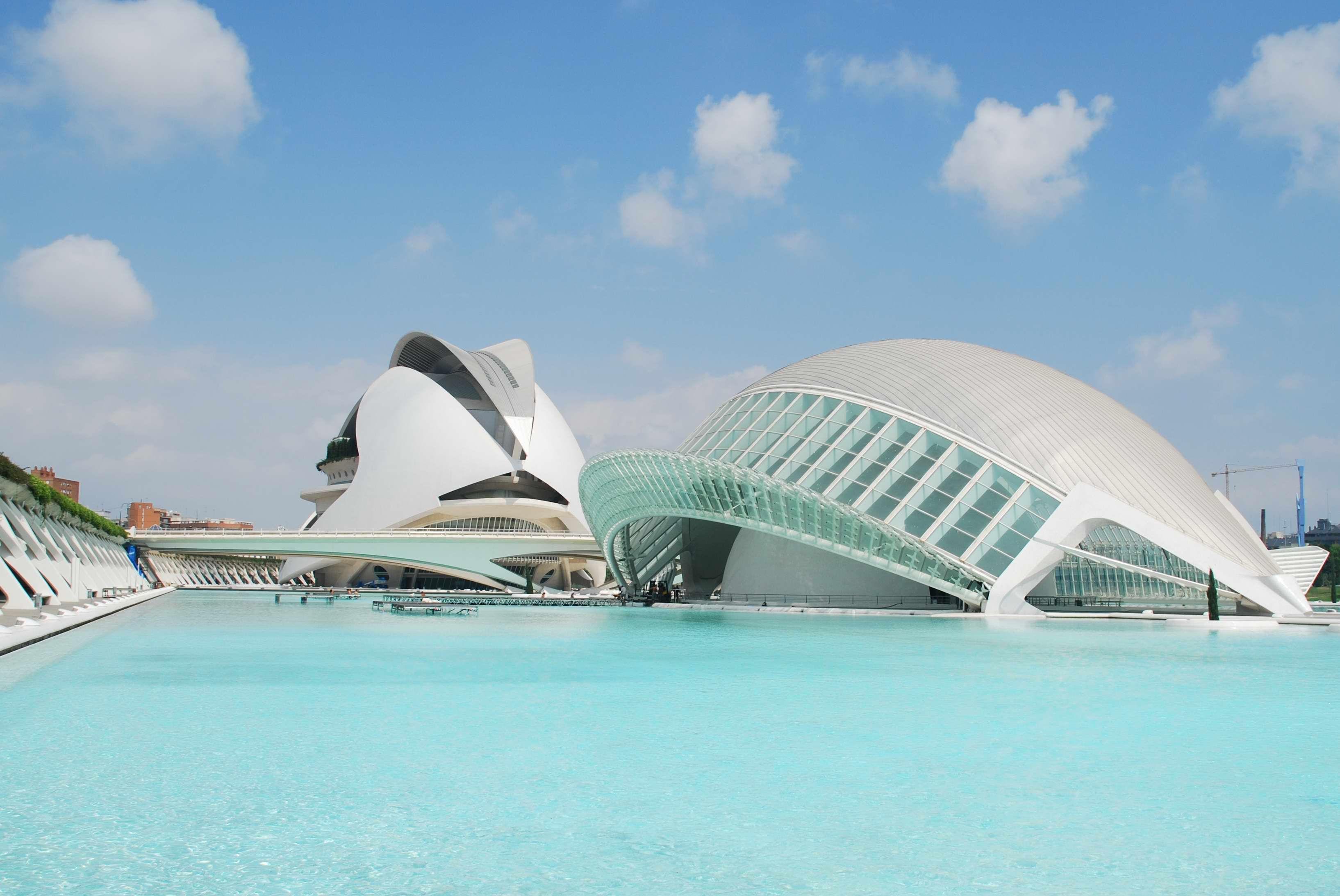 Ciudad De Las Artes Y Ciencias Valencia Valencia Spanje Spanje Valencia