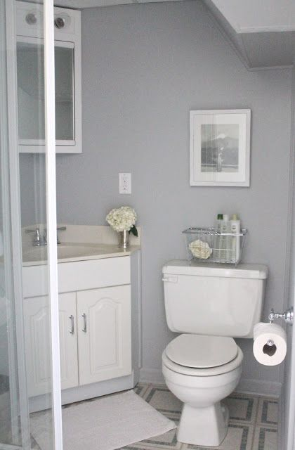 Bathroom Paint Color Idea Knitting Needles From Sherwin Williams This Color Is So Basement Bathroom Design Small Bathroom Paint Small Bathroom Paint Colors