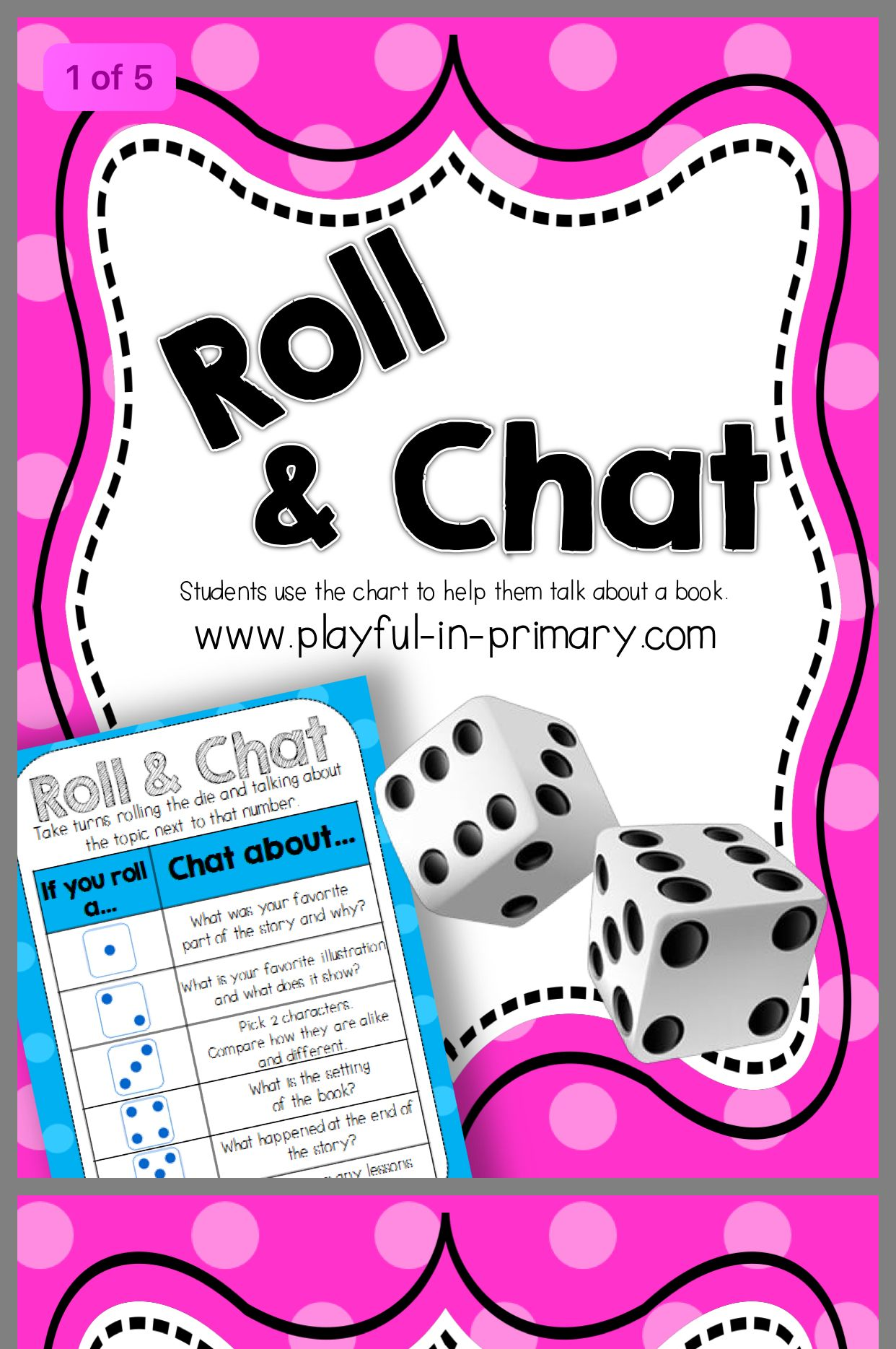 Pin by Sharon on Vocabulary dice game Reading