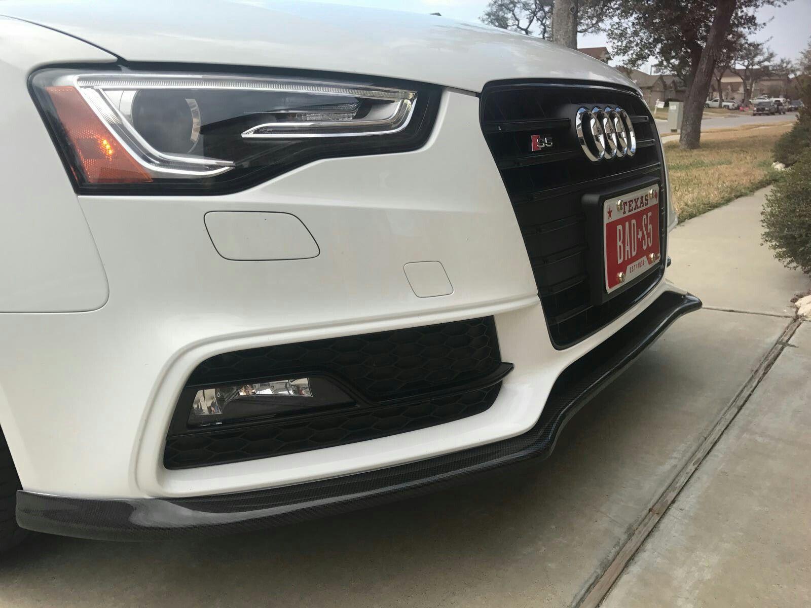 Audi S5 with carbon lip Cars Pinterest