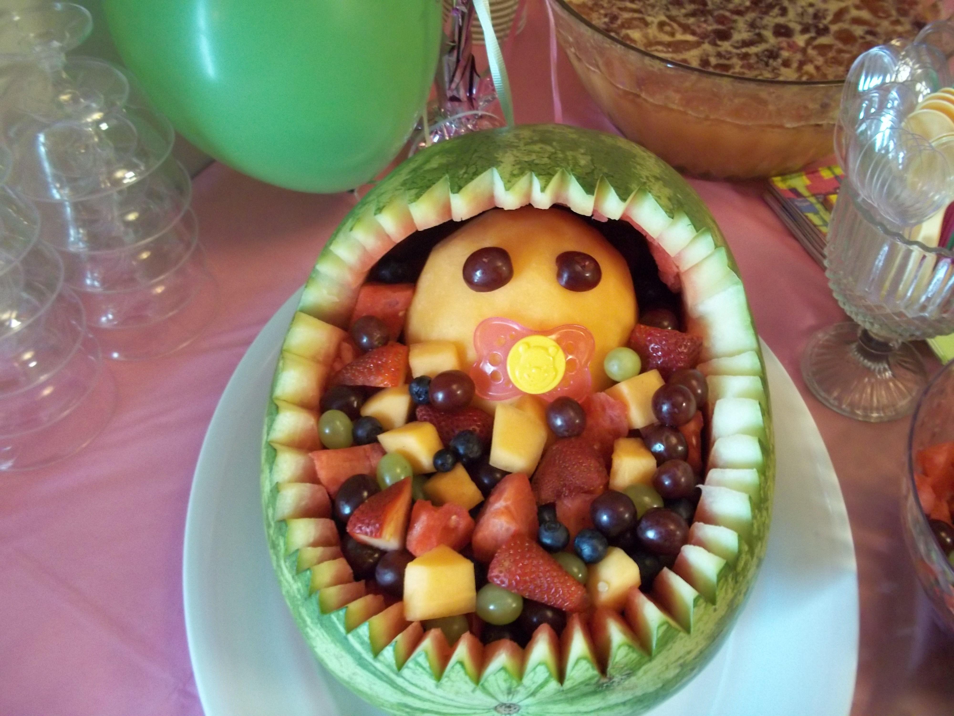 Baby Shower Ideas Watermelon Baby