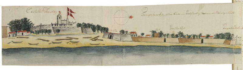 Tranquebar A Danish Colony In India 1620 1845 Through The
