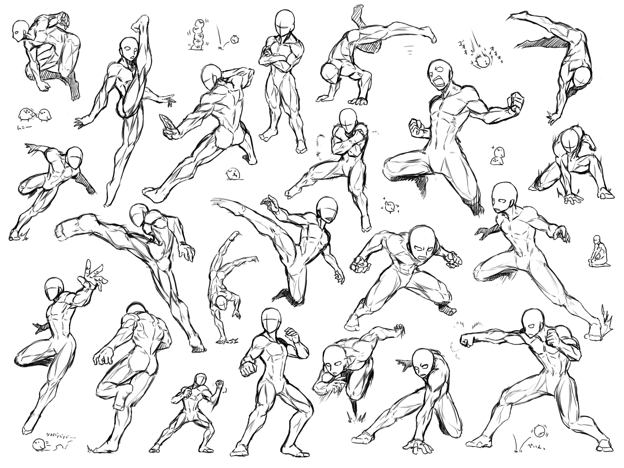Image result for action poses