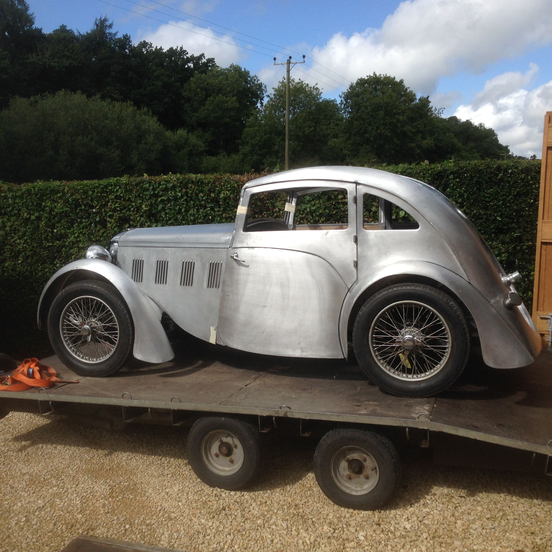 1933 Hillman Aero Minx Streamlined Saloon Vintage Cars Cute Cars Antique Cars