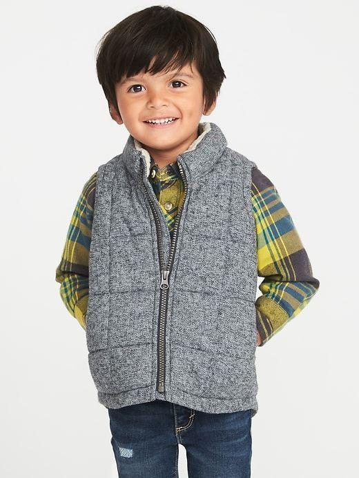 4903b0bb3132 Toddler Boys  Herringbone Puffer Vest - Genuine Kids from OshKosh ...