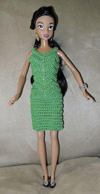Ravelry: Zig Zag Fashion Doll Dress-short pattern by Hazel Furst ...