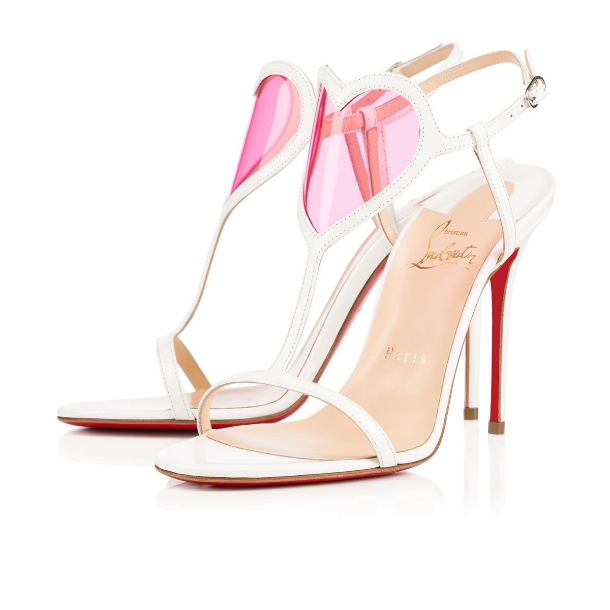 christian louboutin cora heart shoes