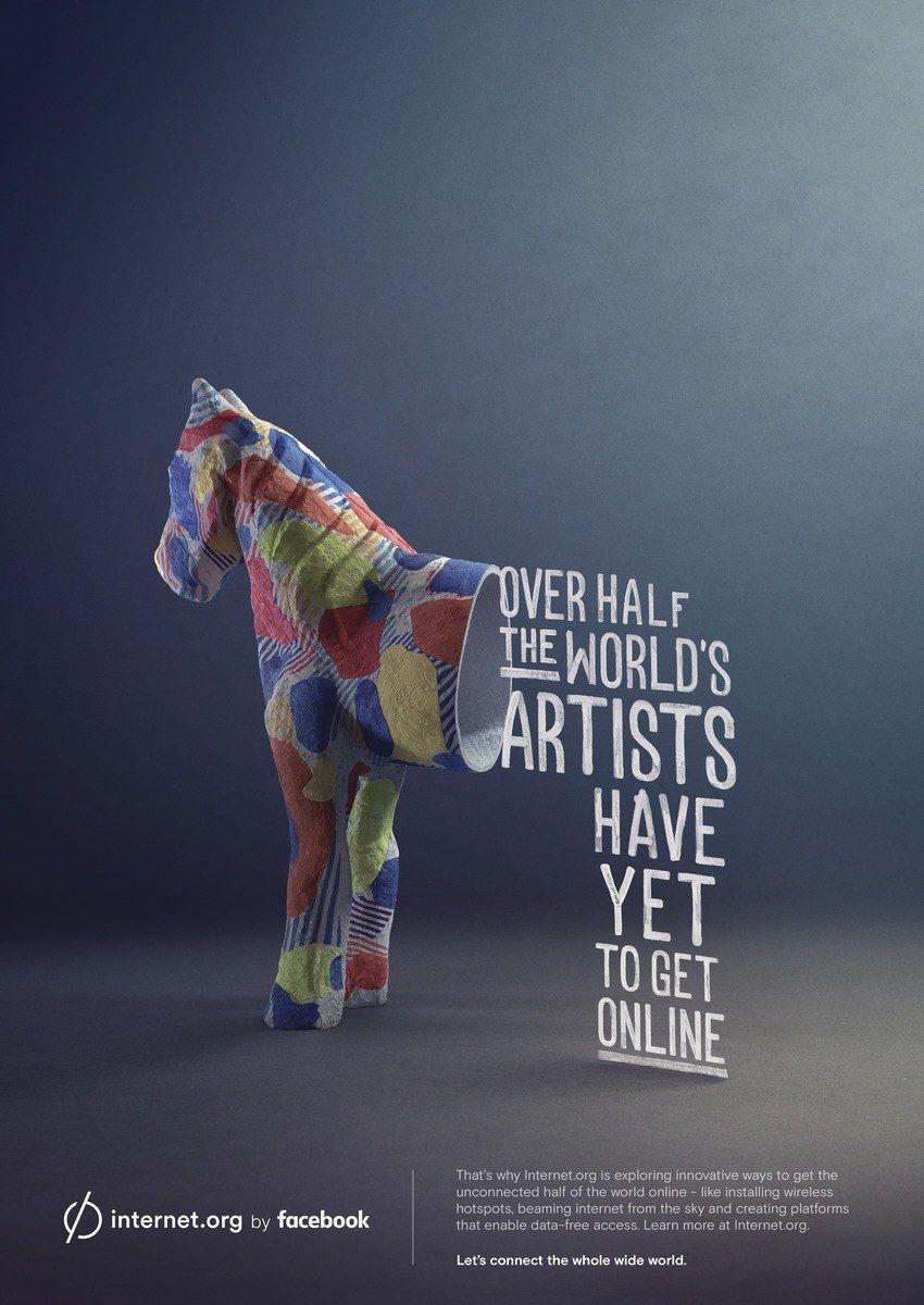 Internet Org By Facebook Print Ads Print Ads Facebook Print Print Advertising Design