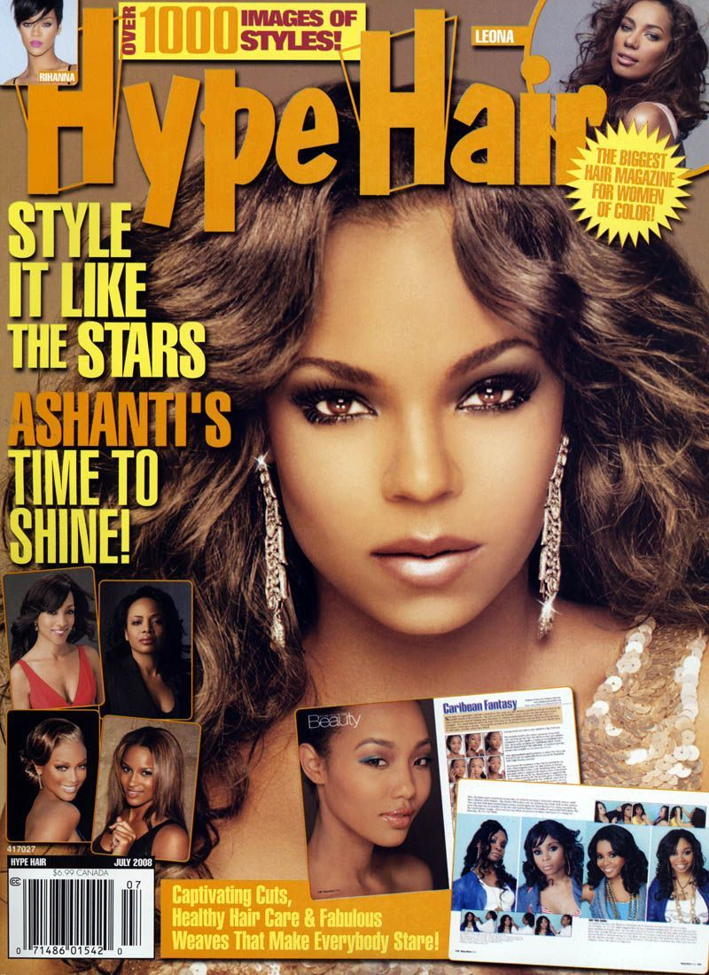 Pin by Wedding Hair on Black Hair Magazine | Hype hair ...