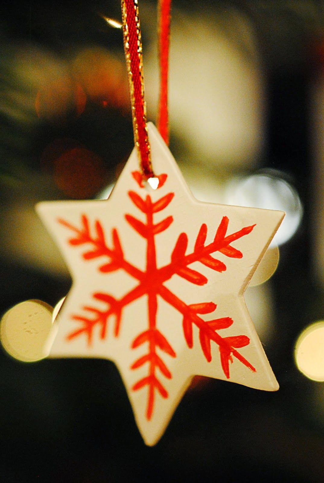 Diy clay star orgnaments mottes blog christmas presents craft diy clay star orgnaments mottes blog solutioingenieria Gallery