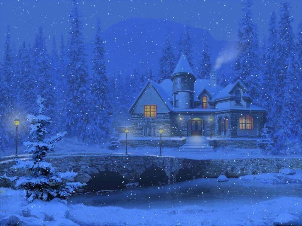 28+ Animated Moving Christmas Desktop Wallpaper PNG