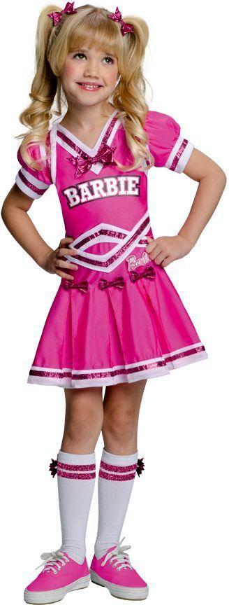Barbie Cheerleader Kids Costume #newcostume #halloween2013 - barbie halloween costume ideas