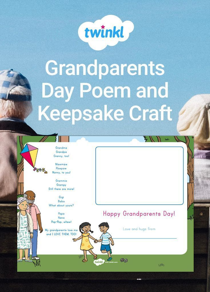 * New * Grandparents Day Poem and Keepsake Craft #grandparentsdaygifts This lovely poem is the perfect rhythmic read-along poem for Grandparents Day! With simple rhymes and fun vocabulary, children will love presenting this poem to their much-loved grandparents. Just add each child's picture and laminate the page for a lovely Grandparents Day gift. #grandparentsdaycrafts * New * Grandparents Day Poem and Keepsake Craft #grandparentsdaygifts This lovely poem is the perfect rhythmic read-along poe #grandparentsdaygifts