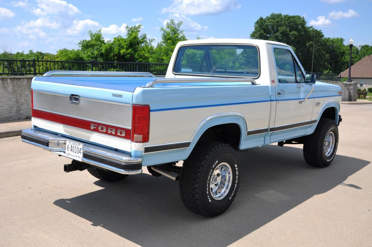 1980 s f150 4x4 1985 ford f150 4x4 30 000 actual miles sold truck pinterest 4x4 ford and ford trucks
