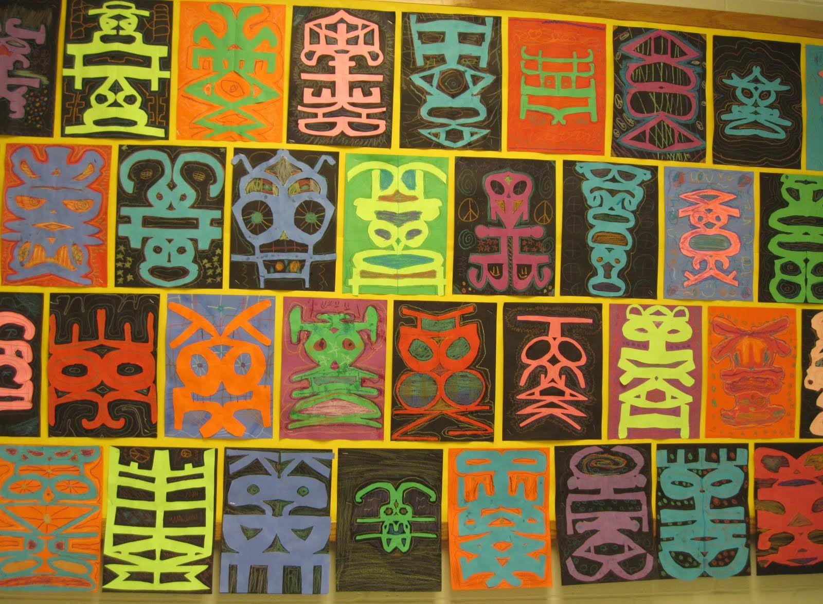 Workbooks symmetry worksheets for high school : 5th grade symmetrical name design | Lesson Ideas | Pinterest ...