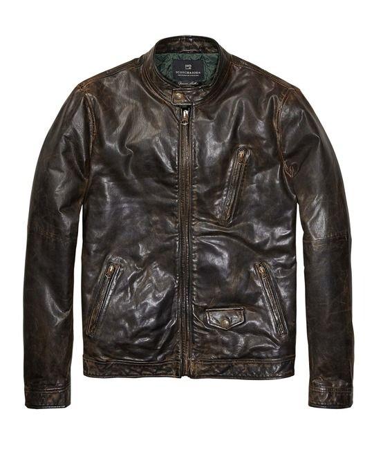Leather Biker Jacket from Scotch & Soda