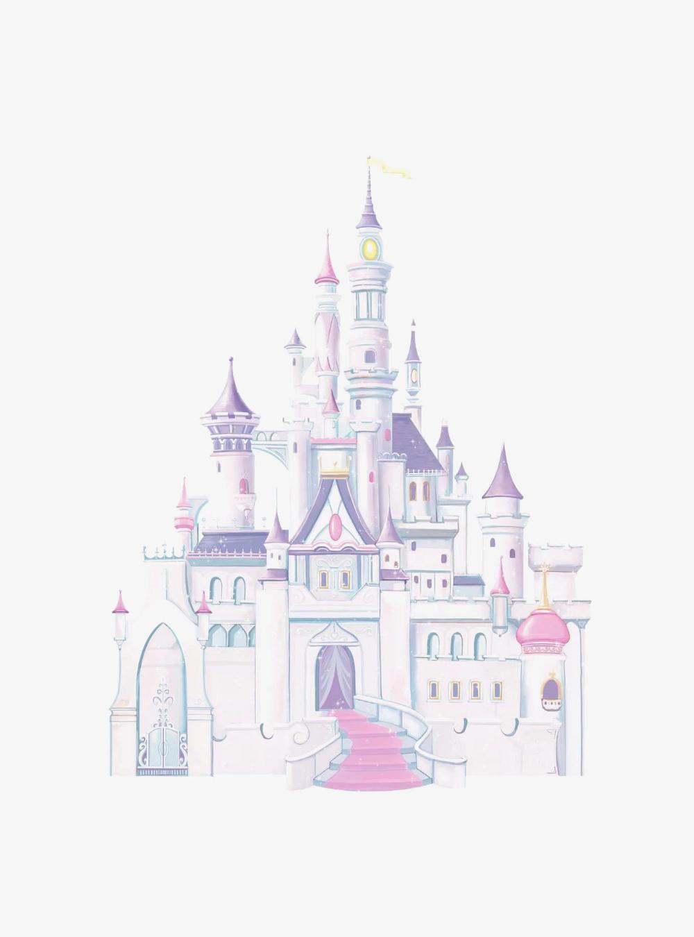 Disney Princess Castle Peel & Stick Giant Wall Decal