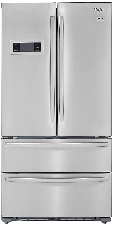 Whirlpool 570l Frost Free Multi Door Refrigerator 702 French Door Bottom Mount Stainless Steel In 2020 Best Refrigerator Refrigerator Bottom Freezer