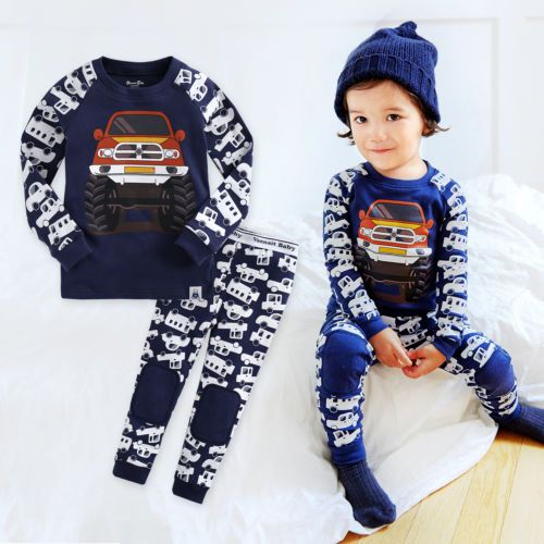 4f65eb45afc8 NWT Vaenait Baby Infant Toddler Kids Boys Clothes Pajama Set