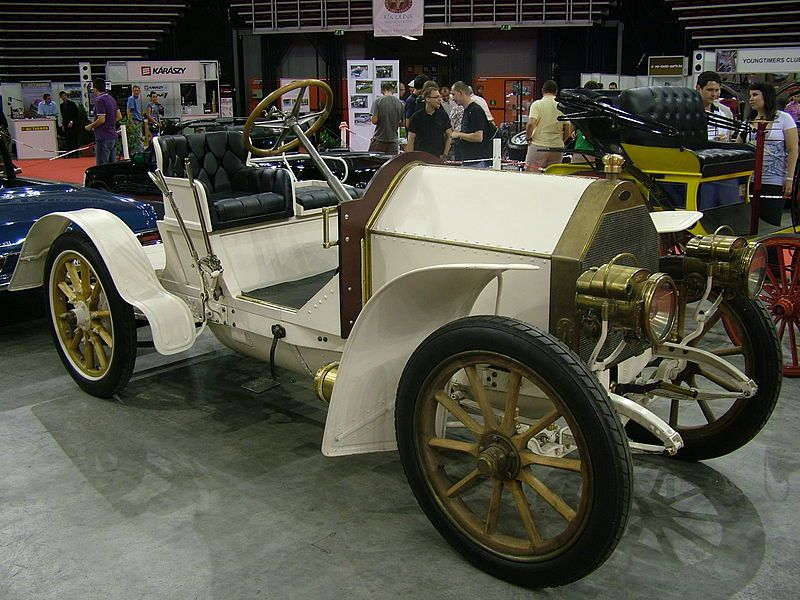 "The 1902 Mercedes Simplex, ""comfort by means of simplicity"" was the slogan hence the name ""Simplex""."