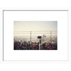 The View: Seoul Framed Print, Artfully Walls