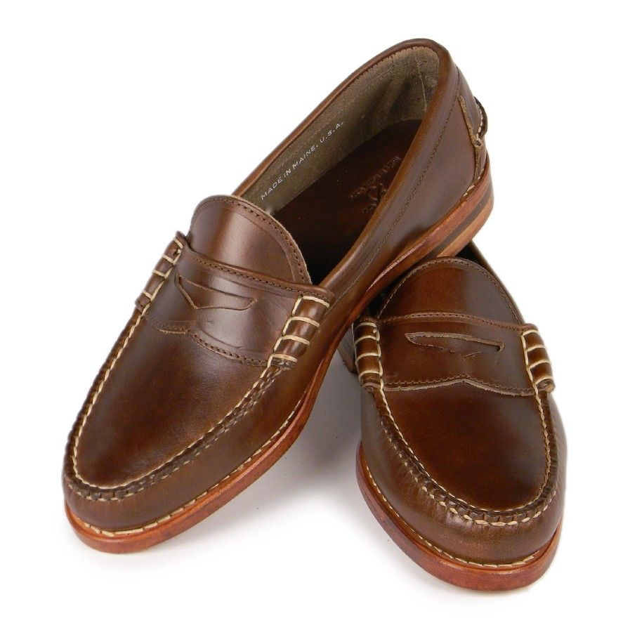 2401c7efa2b Beefroll Penny Loafers - Brown Chromexcel