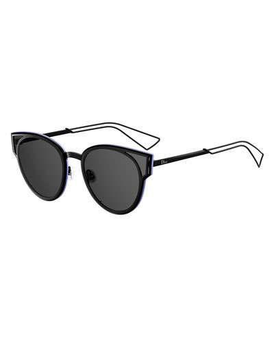 0b4392e83f1 D1C4E Dior Sculpt Cat-Eye Sunglasses