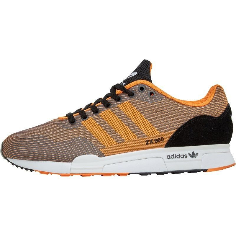 on sale 899c2 20424 ... Details about adidas Originals Mens ZX 900 Weave Trainers Bahia  OrangeBlack UK Sizes 8-10 ...
