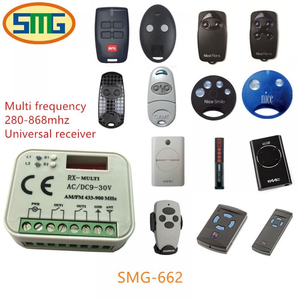 Multi Frequency 280 868mhz Beninca Ditec Faac Nice Came Doorhan Bft Hormann Sommer Universal Garage Door Remote Control Receiver I Www Garage Door Remote Control