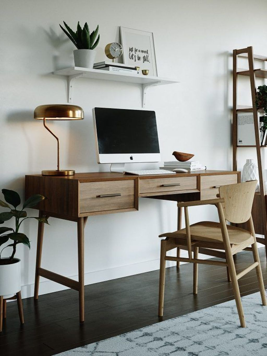 30 Admirable Modern Home Office Design Ideas That You Like Pimphomee Home Office Design Feminine Home Offices Office Interior Design