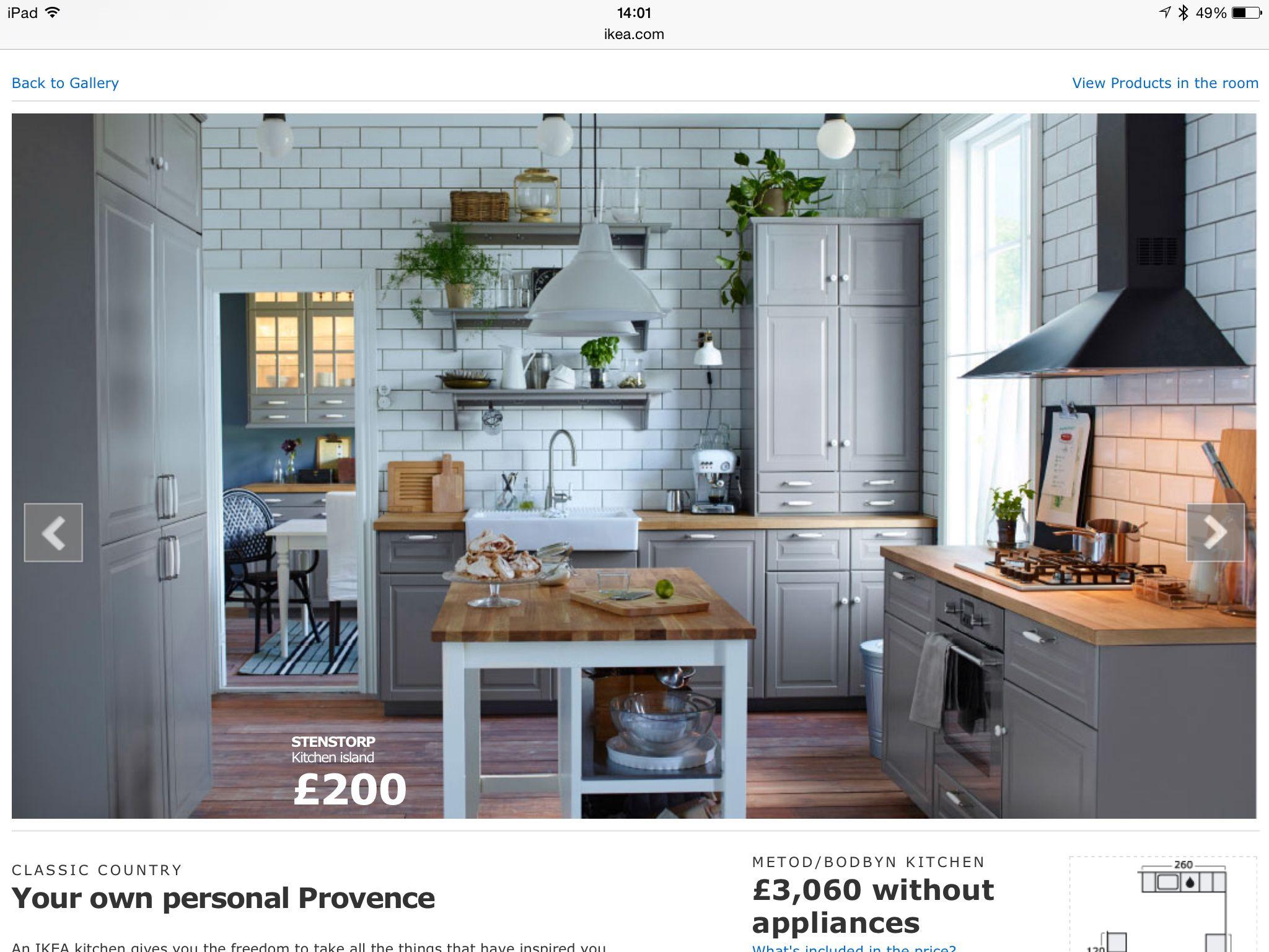Grey units idea | Ooooh Kitchens | Pinterest | Kitchens